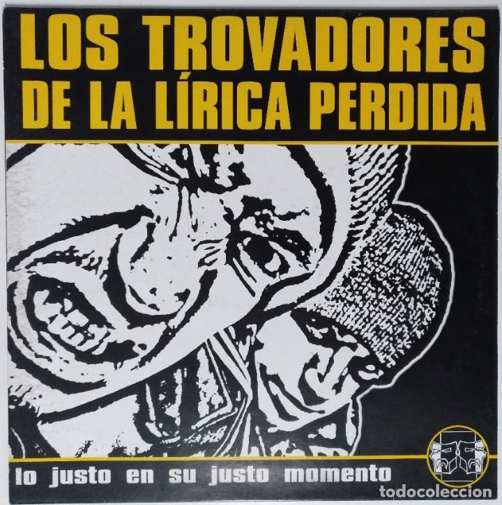 """LOS TROVADORES DE LA LÍRICA PERDIDA [HIP HOP / RAP] [EDICIÓN EXCLUSIVA ORIGINAL EP 12"""" 33RPM] [1999] (Música - Discos de Vinilo - Maxi Singles - Rap / Hip Hop)"""