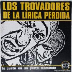 """Discos de vinilo: LOS TROVADORES DE LA LÍRICA PERDIDA [HIP HOP / RAP] [EDICIÓN EXCLUSIVA ORIGINAL EP 12"""" 33RPM] [1999]. Lote 211472765"""