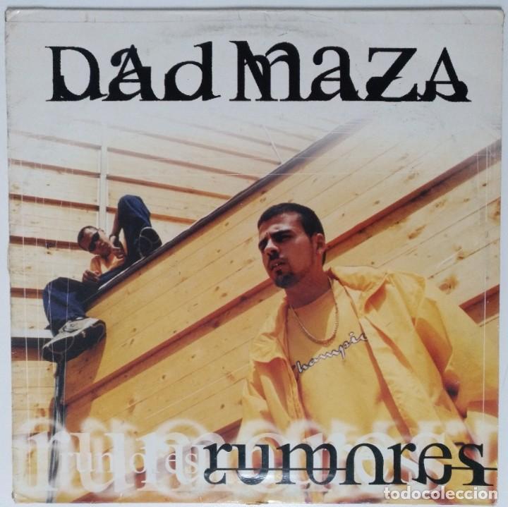 """DAD MAZA - RUMORES [HIP HOP / DANCEHALL / REGGAE] [EDICIÓN EXCLUSIVA ORIGINAL EP 12"""" 33RPM] [1999] (Música - Discos de Vinilo - Maxi Singles - Rap / Hip Hop)"""
