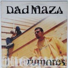 """Discos de vinilo: DAD MAZA - RUMORES [HIP HOP / DANCEHALL / REGGAE] [EDICIÓN EXCLUSIVA ORIGINAL EP 12"""" 33RPM] [1999]. Lote 211473247"""
