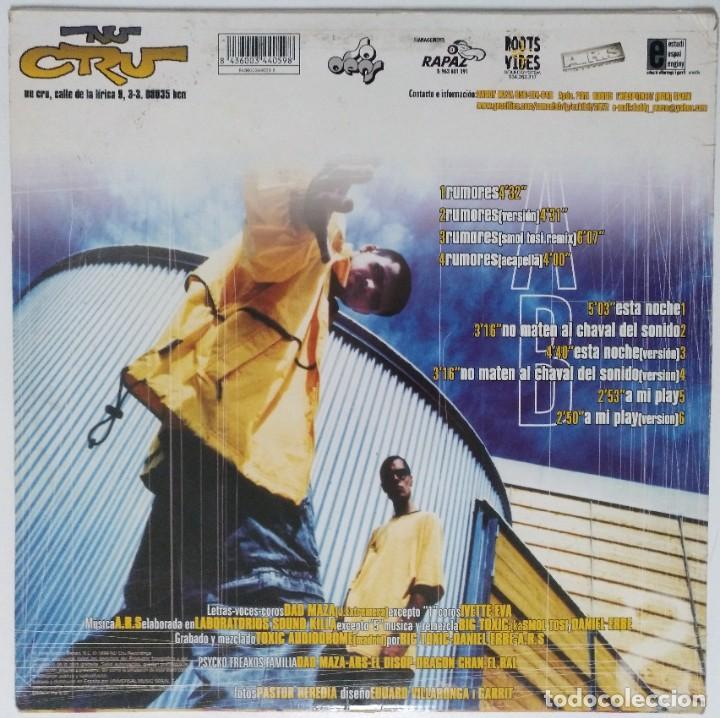"""Discos de vinilo: DAD MAZA - RUMORES [HIP HOP / DANCEHALL / REGGAE] [EDICIÓN EXCLUSIVA ORIGINAL EP 12"""" 33RPM] [1999] - Foto 2 - 211473247"""