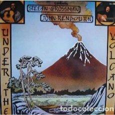 Discos de vinilo: STEFAN GROSSMAN, JOHN RENBOURN– UNDER THE VOLCANO - LP GUIMBARDA SPAIN 1980 + LIBRETO. Lote 211473344