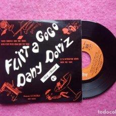 Discos de vinilo: EP DANY DORIZ - PARIS SHUFFLE AND THE VIBES +3 - HO 1012 - FRANCE PRESS (EX/NM). Lote 211473519