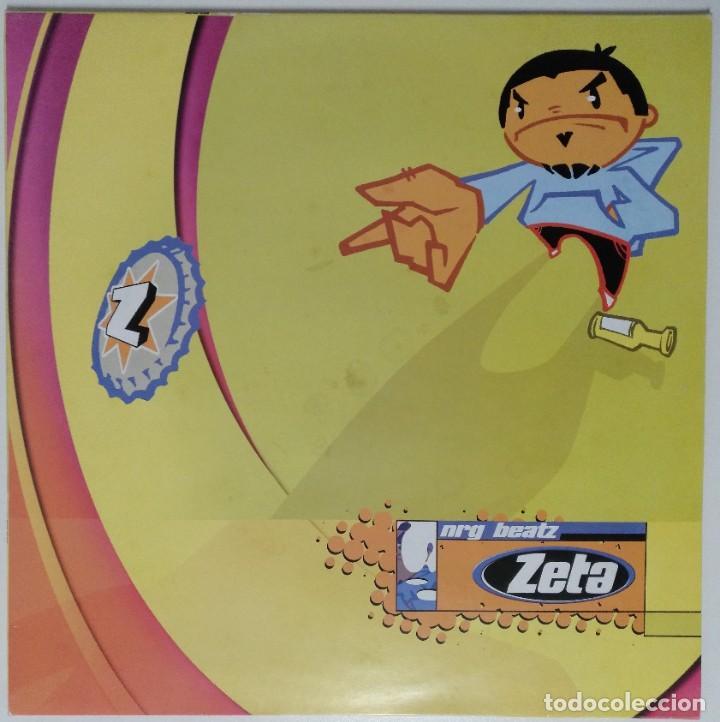"""ZETA - NRG BEATZ [ ELECTRO / HIP HOP / RAP EDICIÓN EXCLUSIVA LIMITADA ] MX 12"""" 45RPM [1998] (Música - Discos de Vinilo - Maxi Singles - Rap / Hip Hop)"""