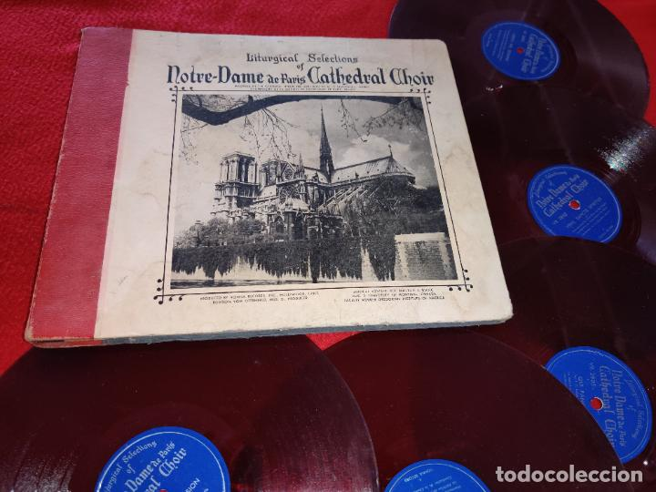 NOTRE DAME CATHEDRAL CHOIR BOYS 78RPM 10 ALBUM SET VONNA RECORDS VR-2800 LITURGICAL (Música - Discos - LP Vinilo - Otros estilos)