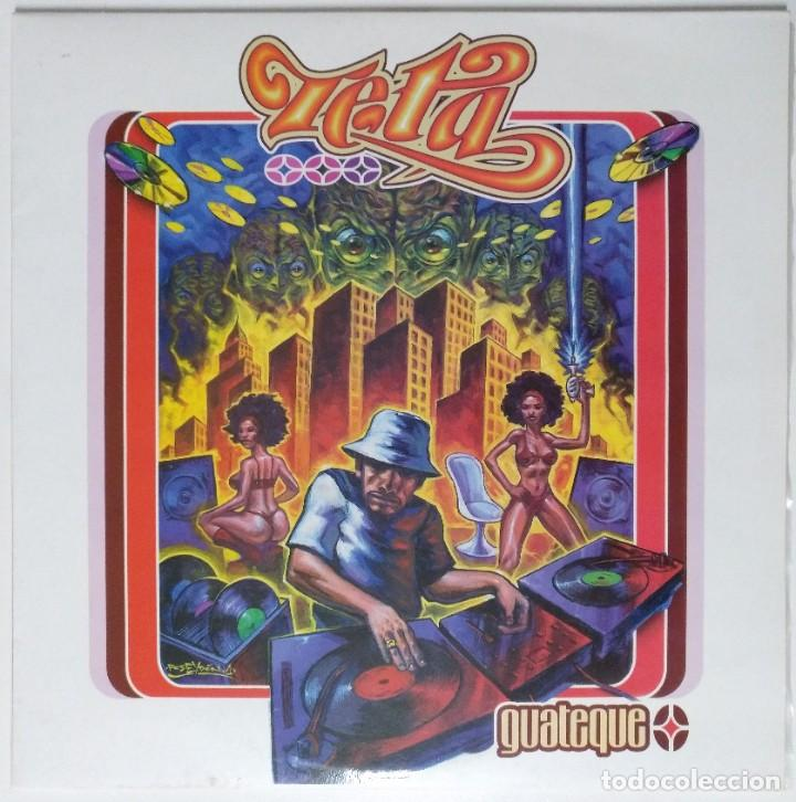 """ZETA - GUATEQUE [ HIP HOP / RAP / ELECTRODOMESTICO EDICIÓN ORIGINAL LIMITADA ] 2LP 12"""" 45RPM [1999] (Música - Discos - LP Vinilo - Rap / Hip Hop)"""