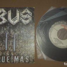 Discos de vinilo: OBUS EL QUE MAS. Lote 211475537