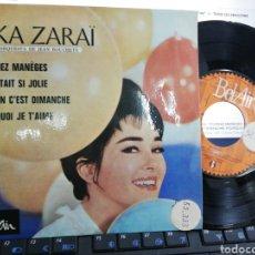 Discos de vinilo: RIKA ZARAI EP TOURNEZ MANEGES + 3 1963. Lote 211475762