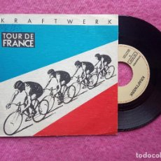 Discos de vinilo: SINGLE KRAFTWERK - TOUR DE FRANCE - 006 1651867 - SPAIN PRESS PROMO (EX-/EX-). Lote 211475885