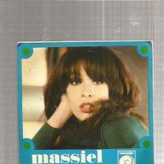 Discos de vinilo: MASSIEL DI QUE NO. Lote 211476614
