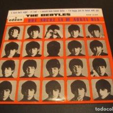 Discos de vinilo: THE BEATLES EP 45 RPM A HARD DAY´S NIGHT ODEON ESPAÑA 1965. Lote 211476750