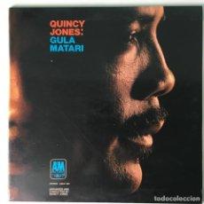 Discos de vinilo: QUINCY JONES – GULA MATARI, SCANDINAVIA 1970 A&M RECORDS. Lote 211476871