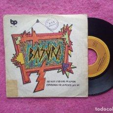 Discos de vinilo: SINGLE BASURA - NO SEAS LESBIANA MI AMOR / ESPERANDO EN LA PUERTA DEL WC - BP 06-143 - (VG/EX-). Lote 211477157