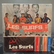 Discos de vinilo: ** LES SURFS - EN UNA FLOR +3 - EP AÑO 1966 - LEER DESCRIPCIÓN. Lote 211477787