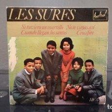 Discos de vinilo: ** LES SURFS - SI TUVIERA UN MARTILLO + 3 - EP AÑO 19 63 - LEER DESCRIPCION. Lote 211478049
