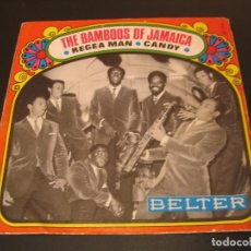 Discos de vinilo: THE BAMBOOS OF JAMAICA SINGLE 45 RPM REGEA MAN BELTER ESPAÑA 1970. Lote 211478831
