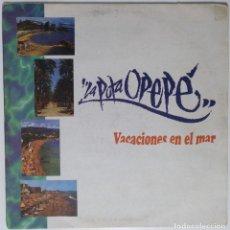 """Discos de vinilo: LA PUTA OPP - VACACIONES EN EL MAR [HIP HOP / RAP / REGGAE ORIGINAL LIMITADA] 2LP 12"""" 33RPM [1996]. Lote 211478934"""