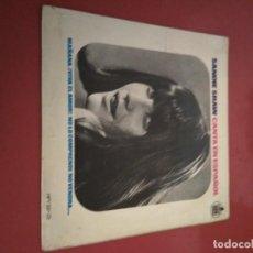 Discos de vinilo: SANDIE SHAW, CANTA EN ESPAÑOL. SINGLE.. Lote 211480425