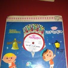Discos de vinilo: DISCO ANIMADO BAMBINO.. SINGLE.. Lote 211480576