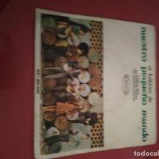Discos de vinilo: EL FOLCLORE DE NUESTRO PEQUEÑO MUNDO.SINGLE.. Lote 211480702