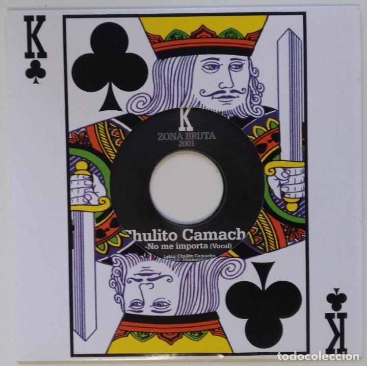 """CHULITO CAMACHO - NO ME IMPORTA (JOTA MAYUSCULA - ZONA BRUTA) [REGGAE ORIGINAL] 7"""" 45RPM [2001] (Música - Discos - Singles Vinilo - Rap / Hip Hop)"""