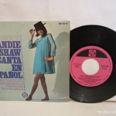 Discos de vinilo: SANDIE SHAW - CANTA EN ESPAÑOL EUROVISION 67 - 1967 - SPAIN - VG/VG. Lote 211480821