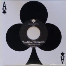 """Discos de vinilo: CHULITO CAMACHO - CICATRICES (ZONA BRUTA) [RAGGA HIP HOP / REGGAE ORIGINAL] 7"""" 45RPM [2001]. Lote 211481014"""