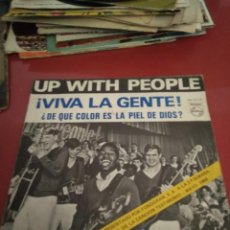 Discos de vinilo: UP WITH PEOPLE .SINGLE.. Lote 211481511