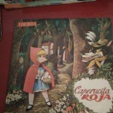 Discos de vinilo: CAPERUCITA ROJA . CUADRO ARTÍSTICO DE RADIO MADRID.IBERIA .SINGLE.. Lote 211481835