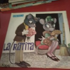 Discos de vinilo: LA RATITA . CUADRO ARTÍSTICO DE RADIO MADRID.IBERIA .SINGLE.. Lote 211481912