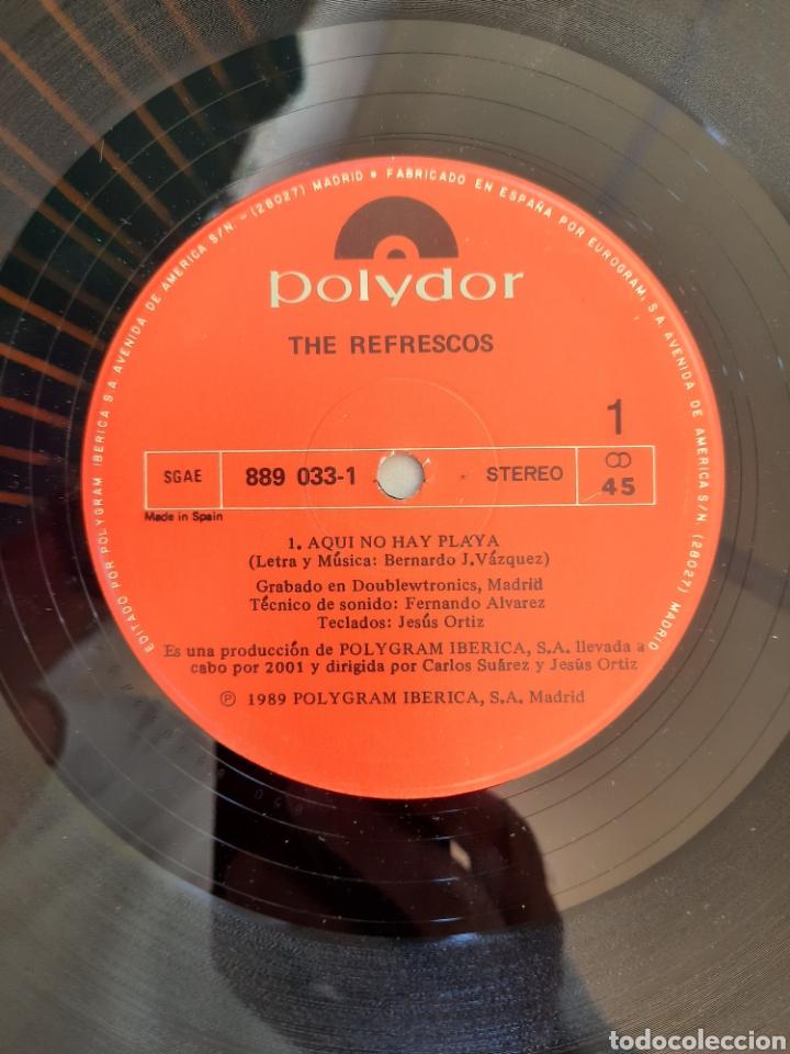 Discos de vinilo: The Refrescos . Aquí no hay playa. Maxi single. - Foto 2 - 211484071