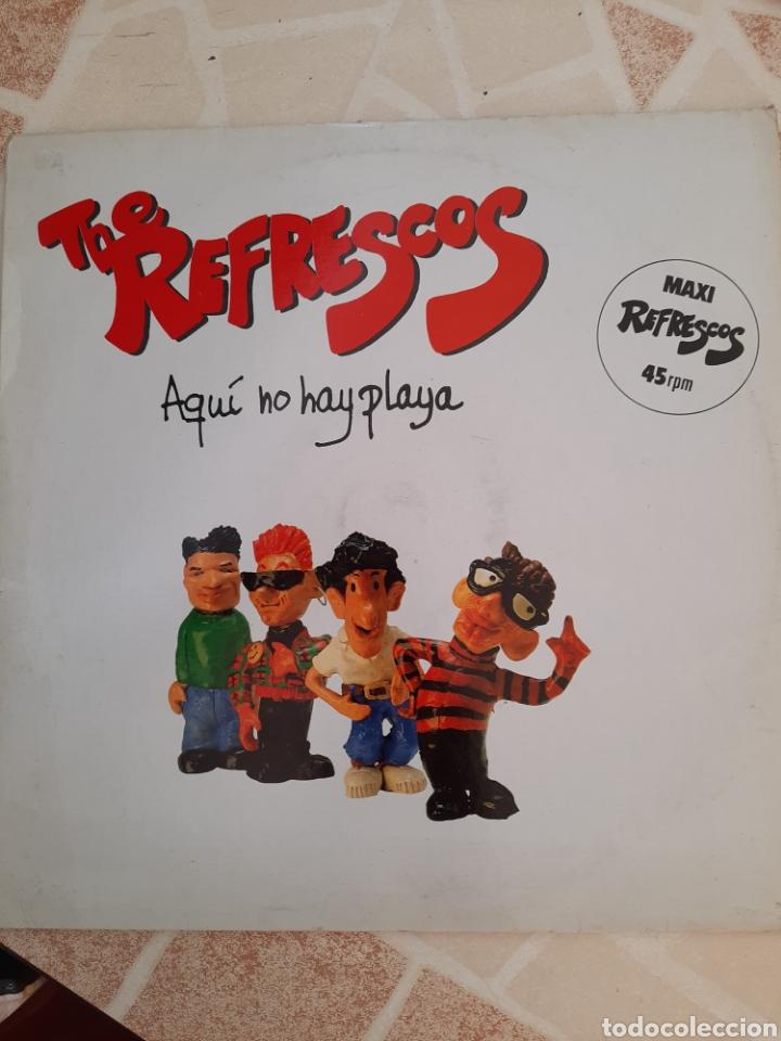 THE REFRESCOS . AQUÍ NO HAY PLAYA. MAXI SINGLE. (Música - Discos de Vinilo - Maxi Singles - Rock & Roll)