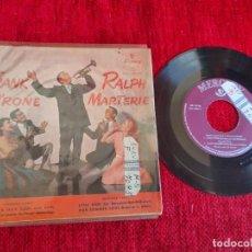 Discos de vinilo: FRANK D'RONE/ RALPH MARTERIE EP.. Lote 211485011