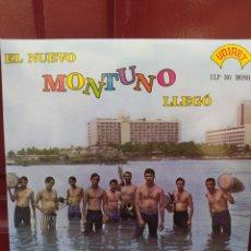 Discos de vinilo: ROBERTO Y SU NUEVO MONTUNO -EL NUEVO MONTUNO LLEGO - LP VINILO NUEVO. Lote 226931085