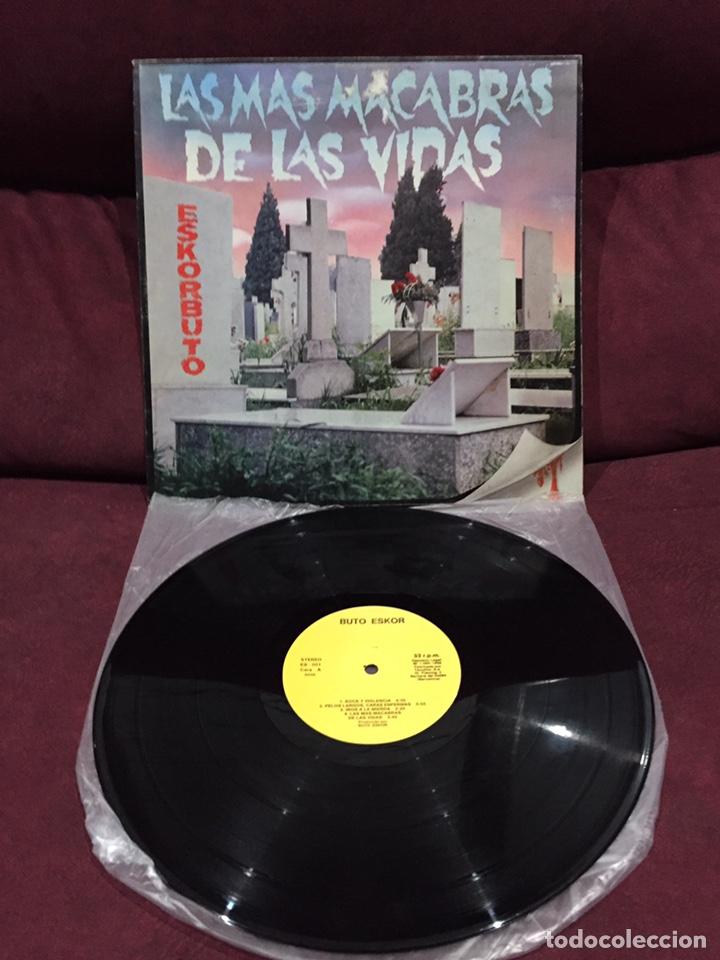 ESKORBUTO - LA MÁS MACABRA DE LAS VIDAS LP, PRIMERÍSIMA EDICIÓN, OCASIÓN UNICA!!! (Música - Discos - LP Vinilo - Punk - Hard Core)