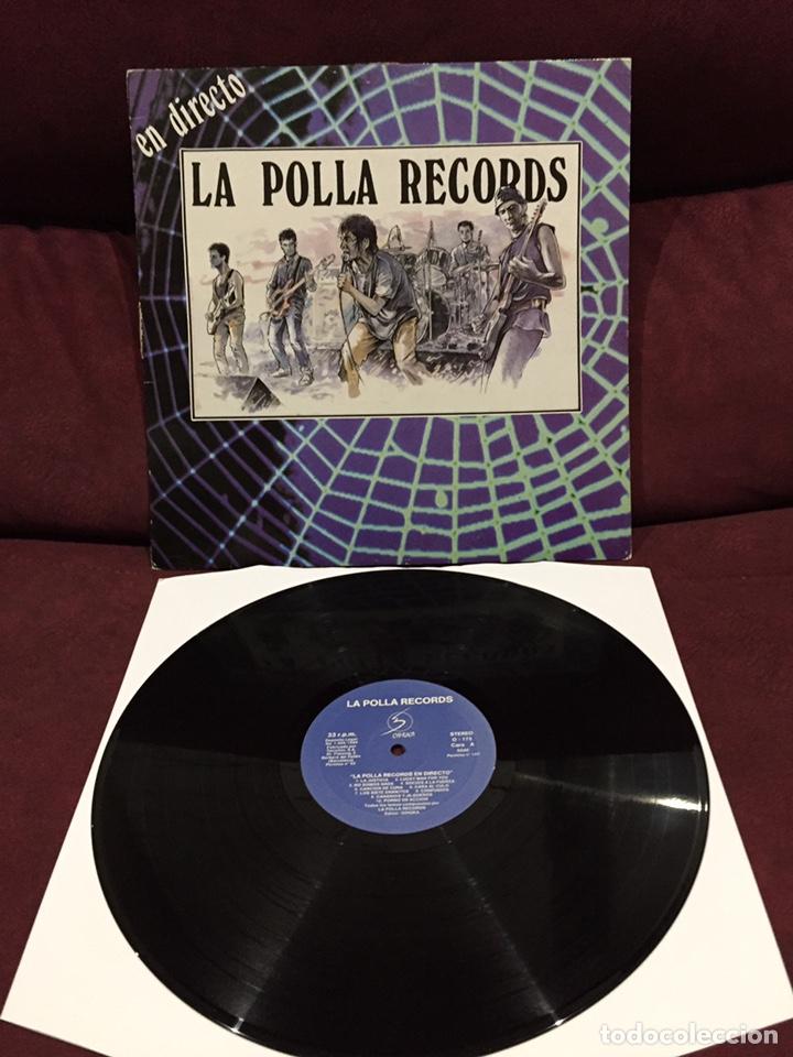LA POLLA RECORDS - EN DIRECTO LP (Música - Discos - LP Vinilo - Punk - Hard Core)
