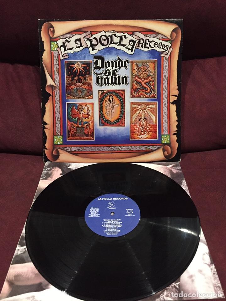 LA POLLA RECORDS - DONDE SE HABLA LP (Música - Discos - LP Vinilo - Punk - Hard Core)