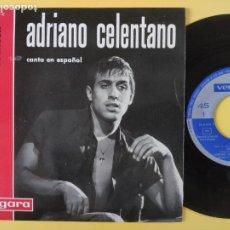 Discos de vinilo: ADRIANO CELENTANO - EP SPAIN PS - TOWER OF STRENGTH ( GENE MCDANIELDS COVER). Lote 211494286