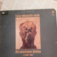 Discos de vinilo: LUIS EDUARDO AUTE . 24 CANCIONES BREVES.. Lote 211494382