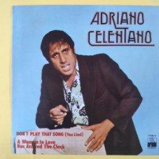 Discos de vinilo: ADRIANO CELENTANO - SPAIN PS - DON' T PLAY THAT SONG (SE VENDE SOLO PORTADA SIN VINILO EN INTERIOR). Lote 211494465