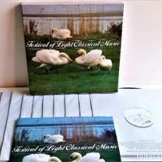 Discos de vinilo: FESTIVAL OF LIGHT CLASSICAL MUSIC - ALBUM 10 VINILOS + LIBRETO + CERTIFICADO. Lote 211495761