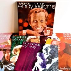 Discos de vinilo: THE BEST OF ANDY WILLIAMS - ALBUM 6 VINILOS + CERTIFICADO. Lote 211496321