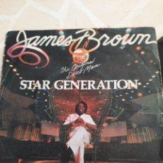 Discos de vinilo: JAMES BROWN . STAR GENERATION. SINGLE. Lote 211498492