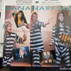 """Discos de vinilo: BANANARAMA - LOVE IN THE FIRST DEGREE (12"""", MAXI) 1987. SELLO:LONDON RECORDS 886 190-1. COMO NUEVO. Lote 211498825"""