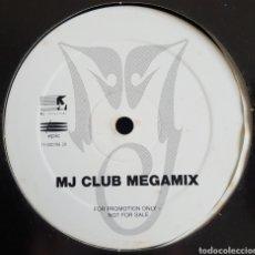 Discos de vinilo: MAXI / MJ CLUB MEGAMIX / MICHAEL JACKSON / 1995 / PROMO. Lote 211500367