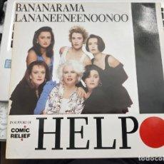 """Discos de vinilo: BANANARAMA / LANANEENEENOONOO - HELP (12"""") 1989.SELLO:LONDON RECORDS CAT. Nº: 886 493-1. Lote 211500469"""