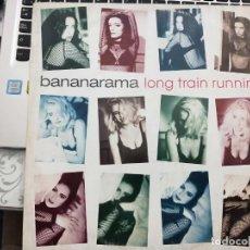 "Discos de vinilo: BANANARAMA - LONG TRAIN RUNNING (12"", SINGLE) 1991.LONDON RECORDS, LONDON RECORDS CAT. Nº: NANX 24,. Lote 211500657"