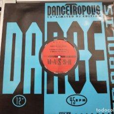 """Discos de vinilo: M*A*S*S*H - DANCE ON THE WATER (12"""") SELLO:PBI RECORDS, DANCETROPOLIS CAT. Nº: BI 808-12.COMO NUEVO. Lote 211504334"""