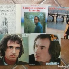 Discos de vinilo: LOTE DE 5 LPS DE LLUIS LLACH-EDICIONES ORIGINALES. Lote 211504391