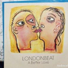 """Discos de vinilo: LONDONBEAT - A BETTER LOVE (12"""") 1990.SELLO:ANXIOUS RECORDS, ANXT21. COMO NUEVO. Lote 211505576"""